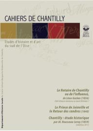 Couverture du cahier de Chantilly numero 4