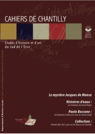 Couverture du cahier de Chantilly numero 6